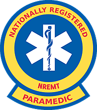 National Registered Paramedics Sticker